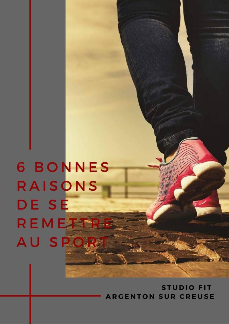 6 bonnes raisons de se mettre au sport